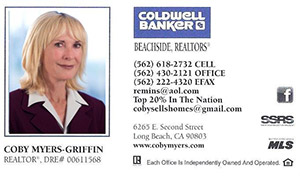 Coby Myers-Griffin - Coldwell Bankers Beachside Realtor
