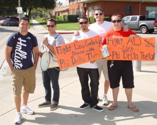 Benjamin Valderrama, Ruben Trujillo, Gregory Estevez, Douglas Mendoza, James Ridings and Alan Weinreb take up the fight against Lou Gehrig's disease.