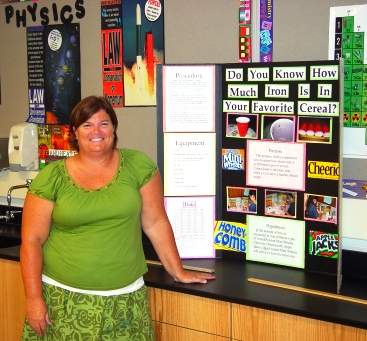 Science instructor Margaret Rasmussen guarantees another explosion of imagination and wonder this school year.