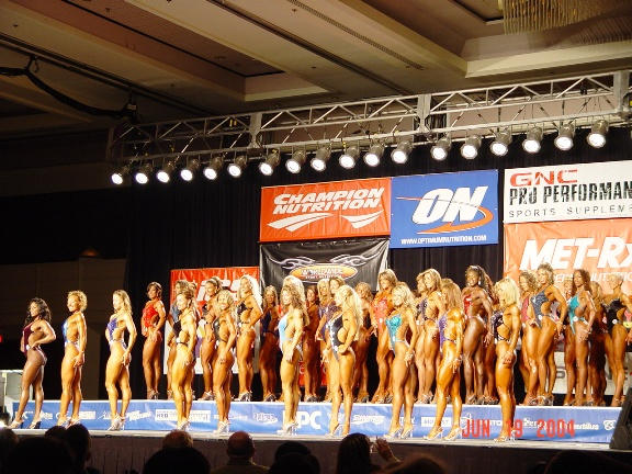 Abby faced dozens of competitors at both regional and national events.