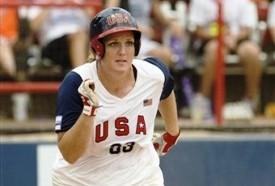 Olympics Champion Stacey Nuveman learned how to play softball in La Verne.