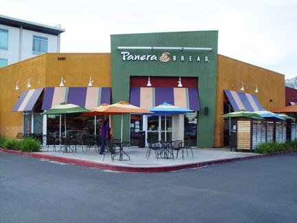 The Foothill Panera Bread in Pasadena