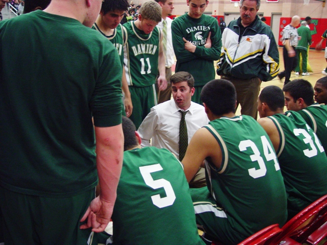 Damien Coach Matt Dunn again led his Spartans to the semi-finals.