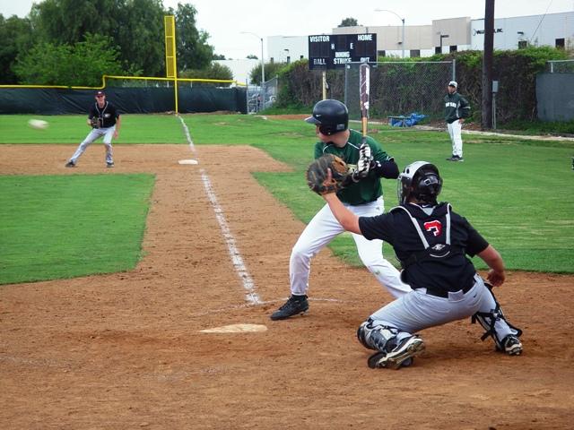Damien's Bobby Oatman entered the game hitting .529.