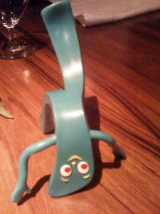 Fans are head over heels for Gumby.