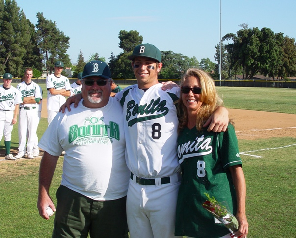 Evan Highley and parents