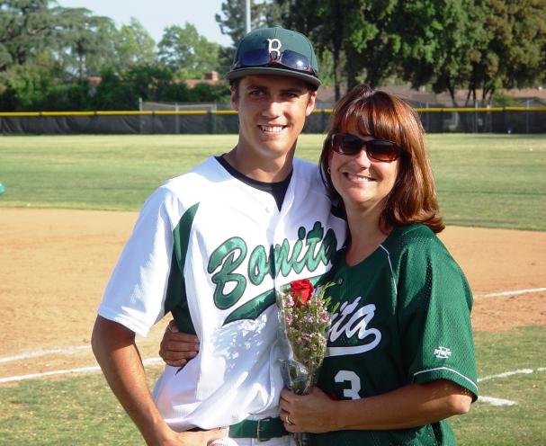 Kyle Moderow and mom.