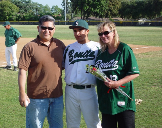 Greg Victoria and parents