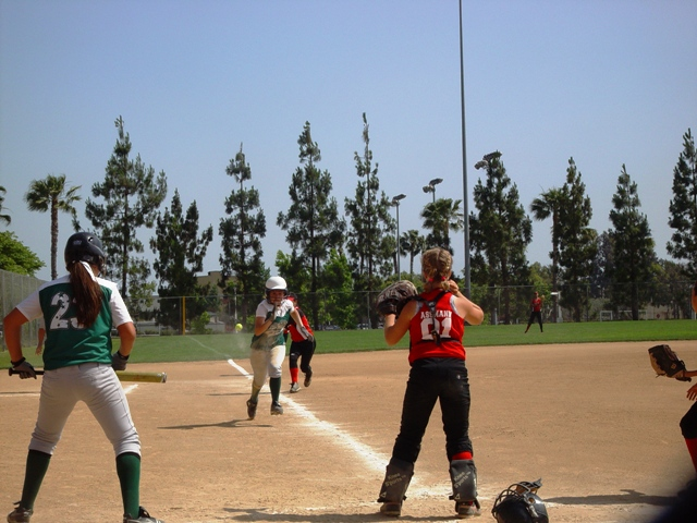 La Verne vs. Elsinore: You're not catching me today!