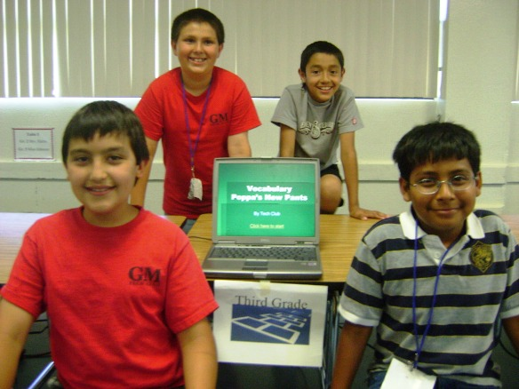 Members of the Grace Miller Tech Club plan to lead America's next technological revolution.