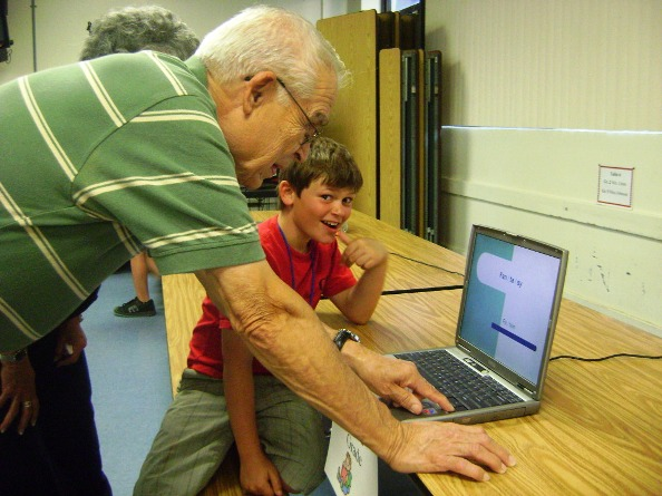 Technology bridges generational gaps.
