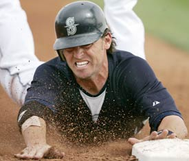 Reed started his MLB career with the Mariners.