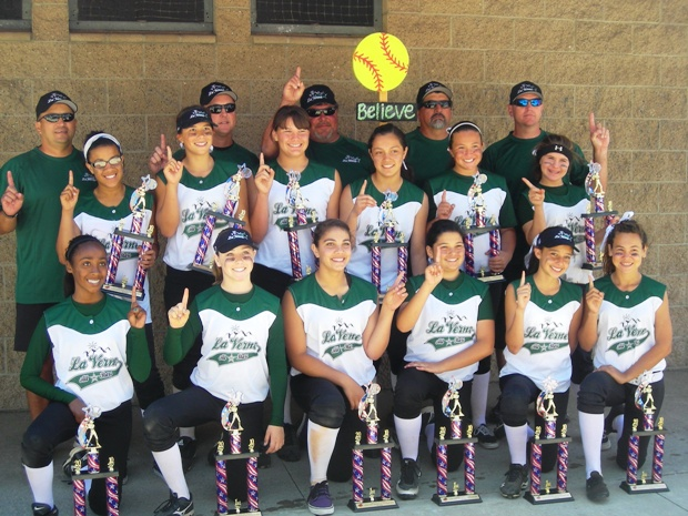 The LVGSA 12U All-Stars won the Clairemont San Diego tournament last weekend, their first win in as many tries.