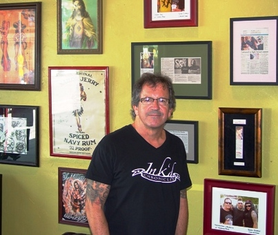 Behind every tattoo, there's a story, according Ink'd Chronicles owner Terry