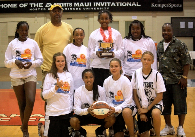 Over the summer, Wheatley coached his combined seventh- and eighth-grade Stars, who won the Maui International Basketball Tournament.