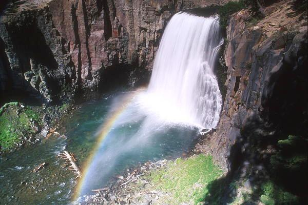 Rainbow Falls, near Mammoth Lakes, provides everlasting refreshment and renewal.