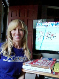 this is Roxanne...perhaps the only Ravens fan in Southern California