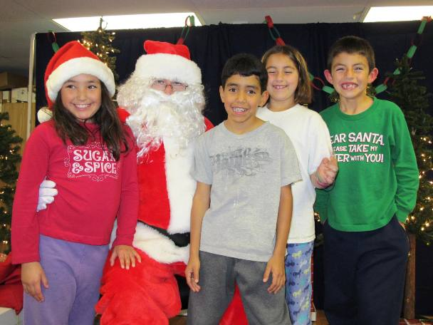 Grace Miller students appeared confident that Santa would make good on their Christmas wishes.
