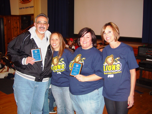 From left, John Gallegos, Mae Gill, Karen Johnson and Natalie Curley.