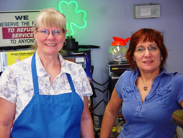 Laura and Wendy offer charming shamock service Tuesday through Sunday.