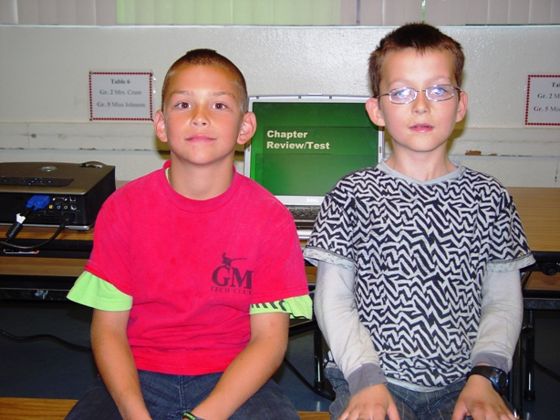 Grant Harris and Jake Demonaco are another pair of Grace Miller tech experts.
