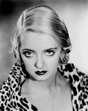 Bette Davis' eyes were mesmerizing.