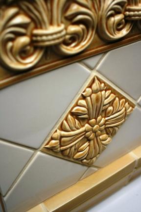 Gainey's Florentine tile was produced at the La Verne plant.