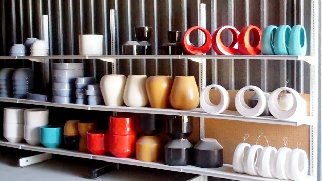 Gainey Ceramics has always been a colorful place to work.