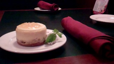 The Bomb-let lemon cheesecake!