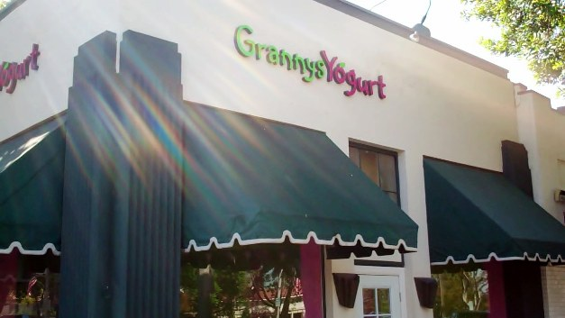 Granny's Yogurts hopes to help customers and college students beat the heat.