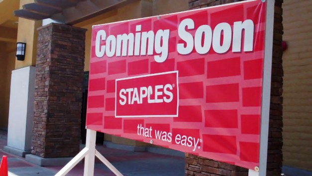 La Verne will never run short of office supplies with Staples and Office Depot dueling it out in opposite shopping centers on White Avenue.