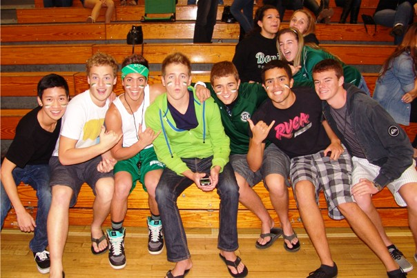 Bonita students led the cheering section.