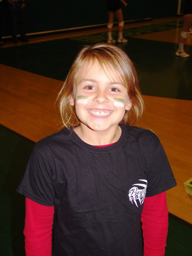 Kaylee Ashby is a big-little Bonita volleyball supporter.