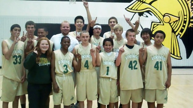 Cory's Conquerors: The undefeated 2012 Ramona basketball squad will be moving on to Bonita High School.
