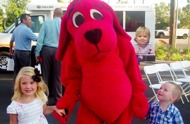 When it comes to child care in La Verne, Kiddie Academy is the big (red) dog in town.