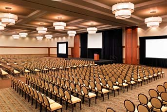 One mystery has been solved. The beautiful Sheraton Fairplex Conference Center's California Ballroom will play host to the Notes of Love dinner.