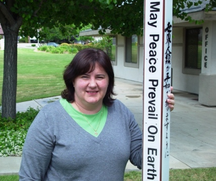 Mother Kelli Grace Kurtz is the vicar at St. John's in La Verne.