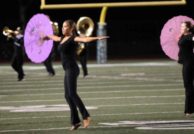 Bonita's half-time show is always a classy performance.