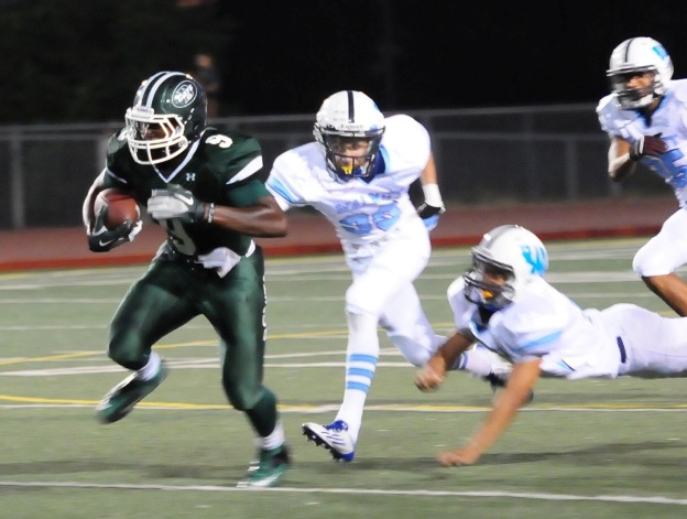 Shane Pitts helped lead Bonita's forward progress.