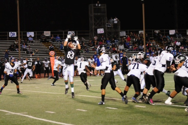 Josh Resendez bats down a pass.