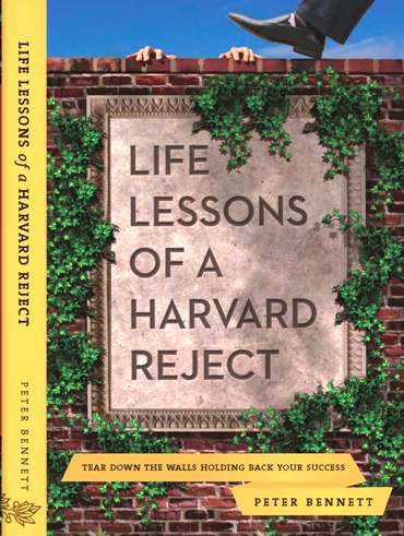 Soft copy or E-Version, Life Lessons of a Harvard Reject is a great motivational and inspirational read.
