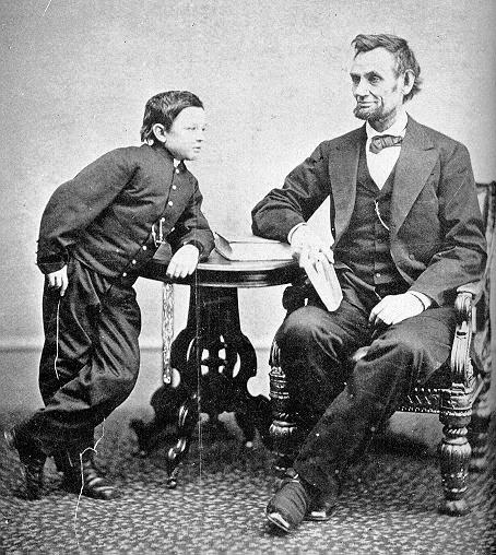 Abe with son Tad