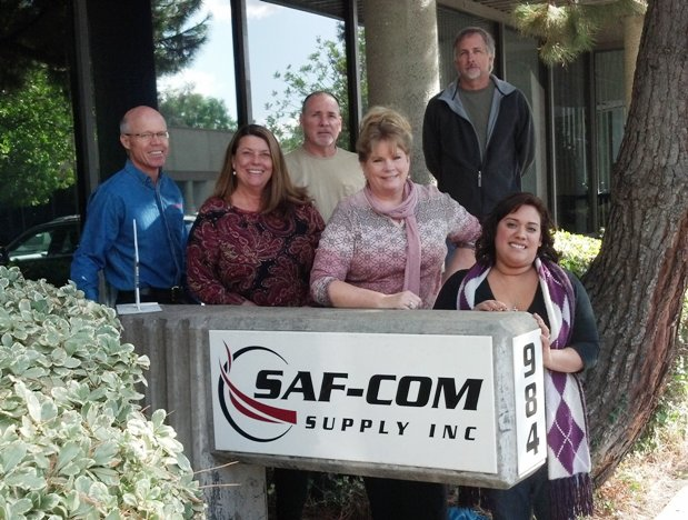 The Saf-Com staff, at its new headquarters at 984 N. Amelia Ave. in San Dimas, is dedicated to your safety. is dedica
