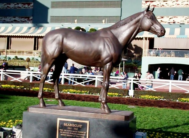 Even the great Seabiscuit might find it hard to believe Strub's story.