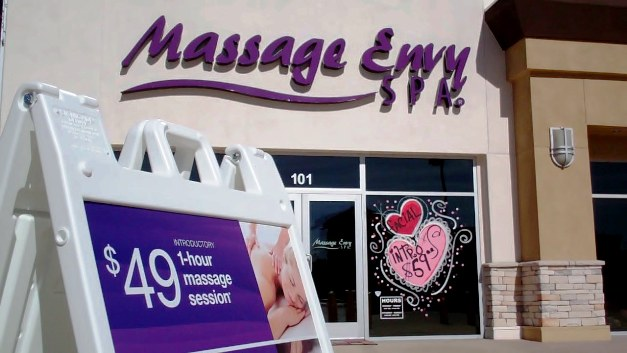 Located in the Glendora Marketplace, Massage Envy is hard to miss!