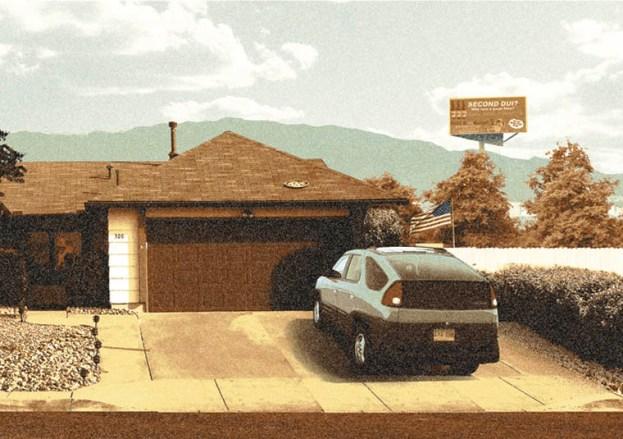 The White Residence by artist Mark Englert
