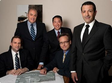 Construction Authority CEO Habib Balian, far right, with his executive staff.
