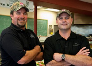 From left, brothers John and Will Fuelling are primed to serve all of their customers meat, poultry and seafood needs.