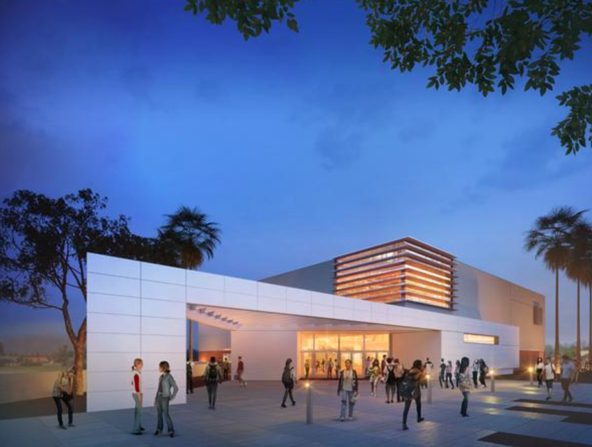 the students of ramona middle school in la verne will soon enjoy a state of the art sports and physical education facility distinguished by a modern